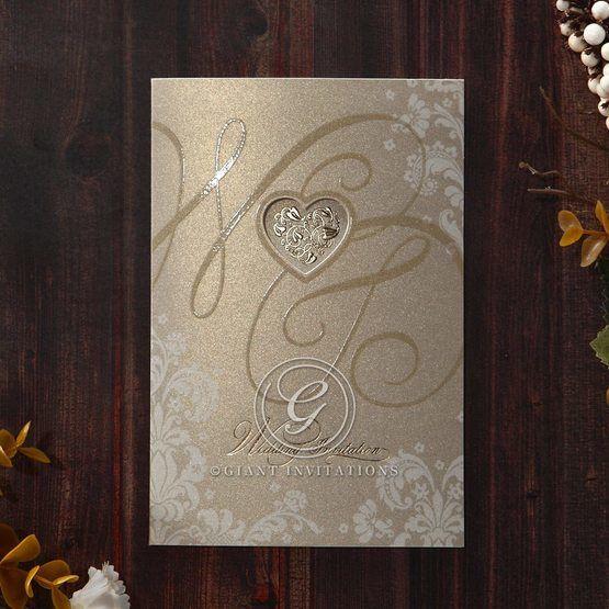 Yellow/Gold Golden Beauty - Wedding invitation - 59