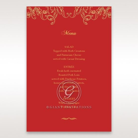 Golden_Charisma-Menu_Cards-in_Red_Gold