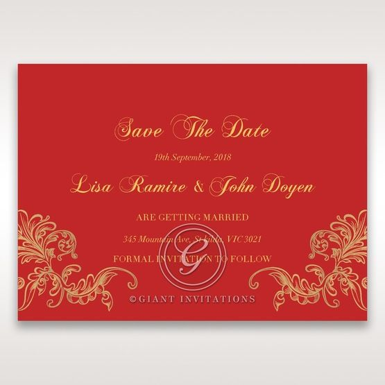 Golden_Charisma-Save_the_date-in_Red_Gold