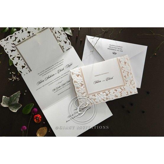 Embossed Floral Frame wedding invitations HB15106_10