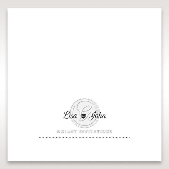 Embossed Frame place card DP116025
