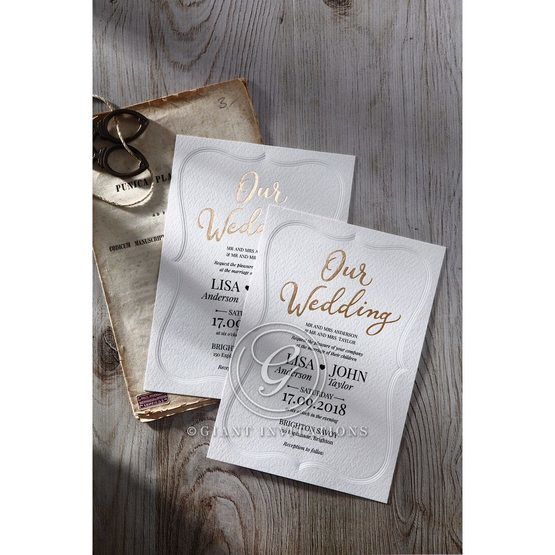 Embossed Frame wedding invitations OWI116025_5