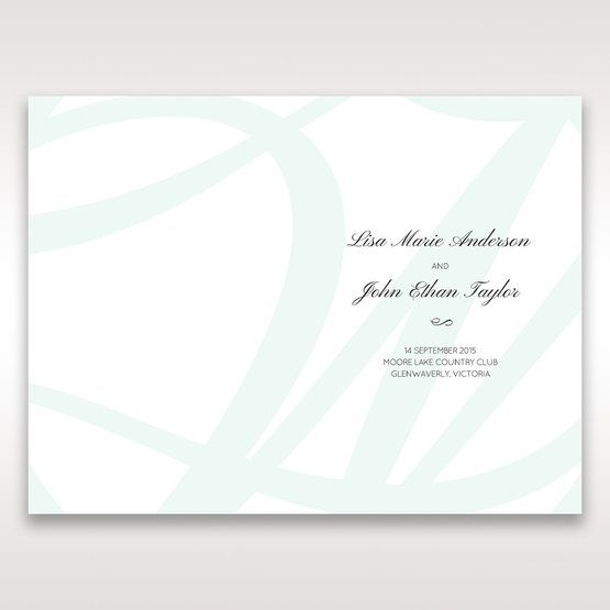 White Modern Marvel - Order of Service - Wedding Stationery - 37