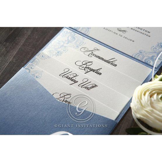 Graceful Wreath Pocket bridal shower invitations IAB11128-B_5