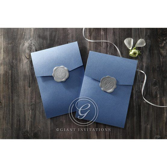 Graceful Wreath Pocket bridal shower invitations IAB11128-B_9