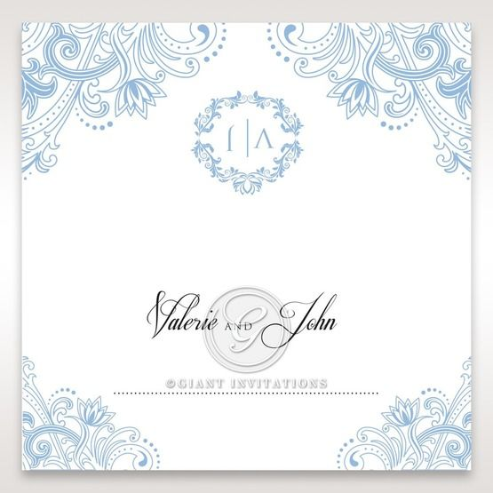 Graceful Wreath Pocket place card DP11128