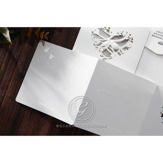 Silver/Gray Natural Charm - Wedding invitation - 13
