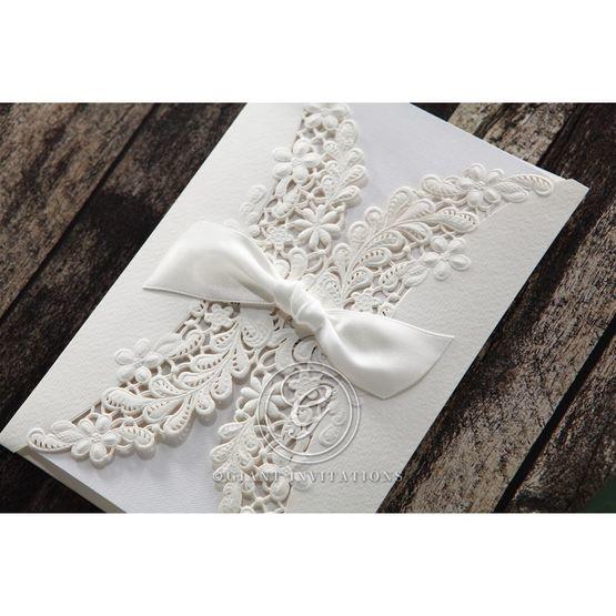 White Everlasting Love - Wedding invitation - 23