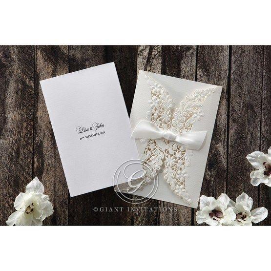 White Everlasting Love - Wedding invitation - 25