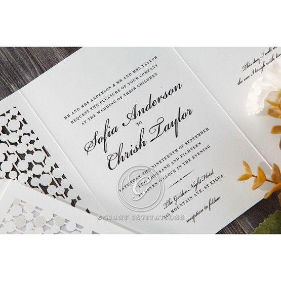 Purple Contemporary Celebration - Wedding invitation - 74