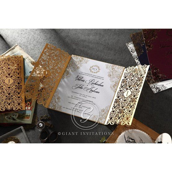 Imperial Glamour bridal shower invitations PWI116022-DG-B_2