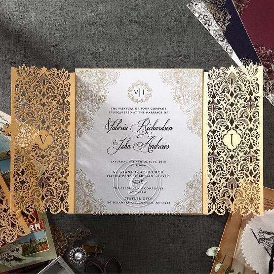 Imperial Glamour corporate invites PWI116022-DG-C
