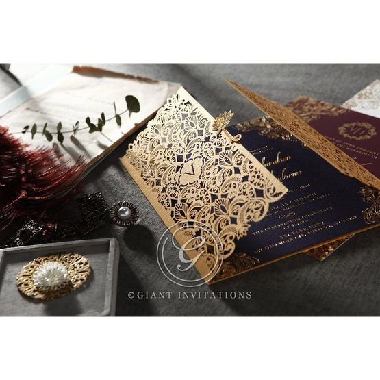 Imperial Glamour wedding invitations PWI116022-NV_3