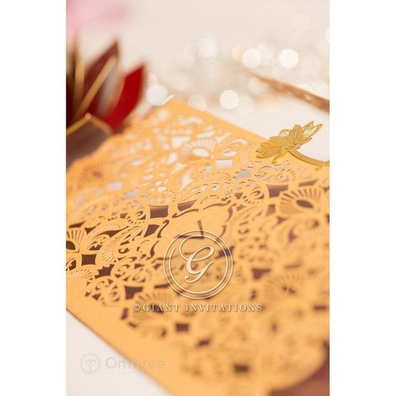 Imperial Glamour wedding invitations PWI116022-WH_1