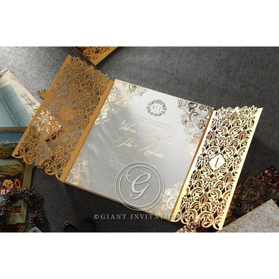 Imperial Glamour wedding invitations PWI116022-WH_10