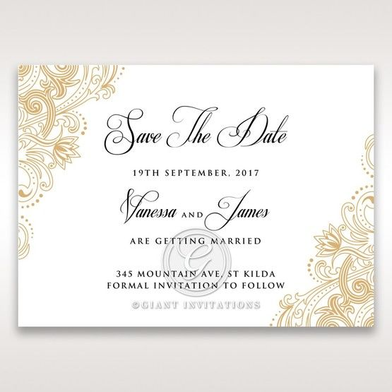 Imperial Glamour without Foil save the date DS116022-DG