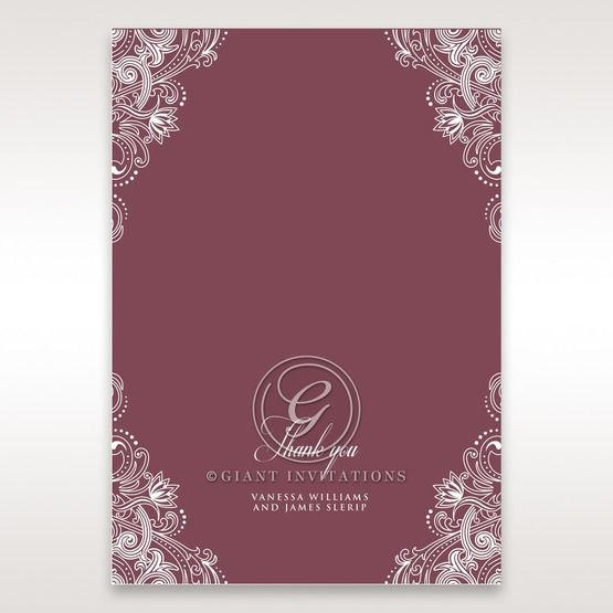 Imperial Glamour without Foil thank you card DY116022-MS-D