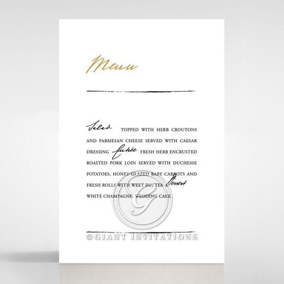 Love Letter menu card DM116105-YW