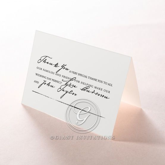 Love Letter thank you card DY116105-YW