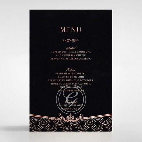 Luxe Victorian menu card DM116074-GK-RG