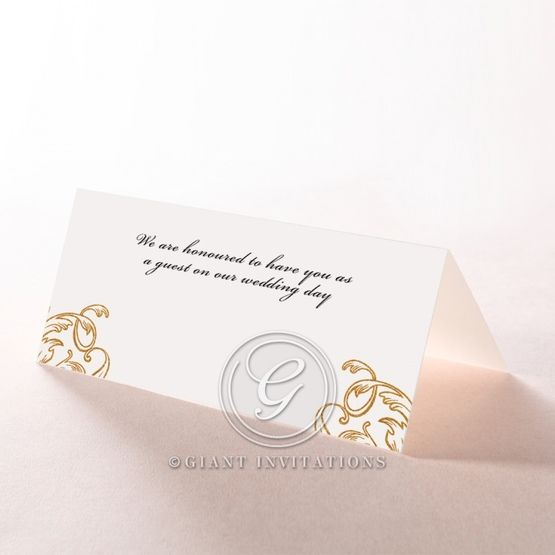 Modern Crest place card DP116122-KI-GG