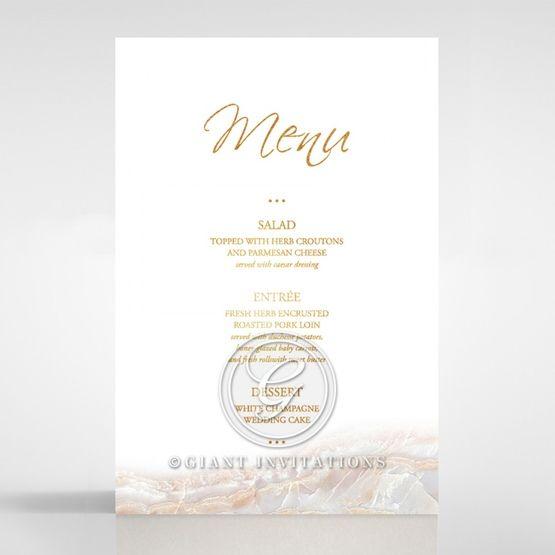 Moonstone menu card DM116106-KI-GG