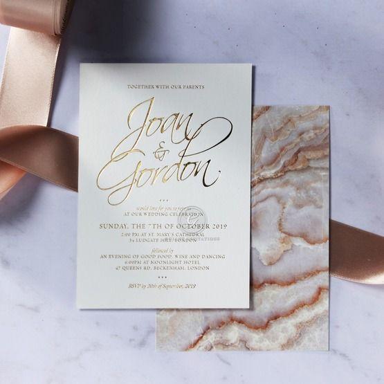 Moonstone wedding invitations FWI116106-KI-GG