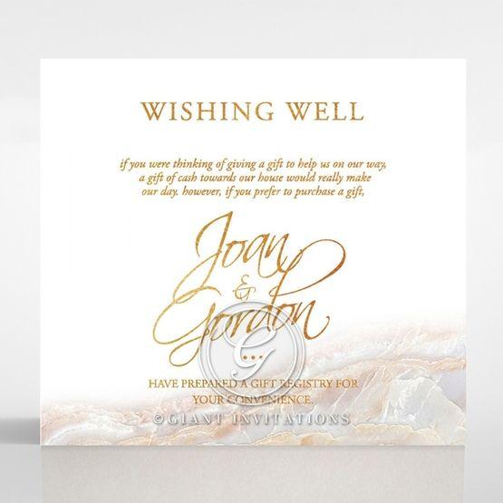 Moonstone wishing well card DW116106-KI-GG