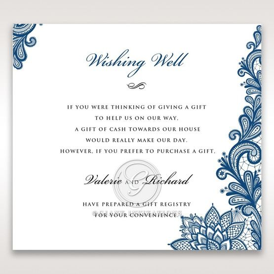 Noble Elegance wishing well card DW11014