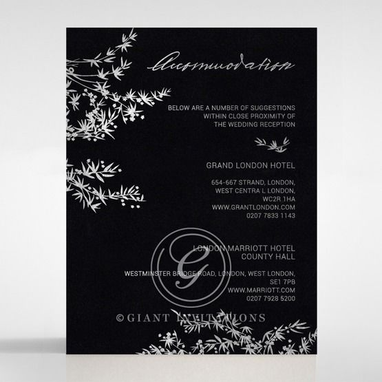 Oriental Romance accommodation card DA116056-GK-MS