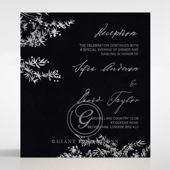 Oriental Romance reception card DC116056-GK-MS