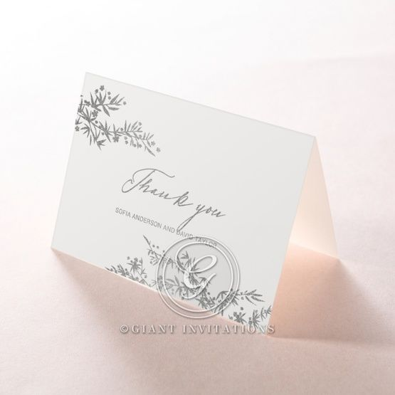 Oriental Romance thank you card DY116056-GK-MS