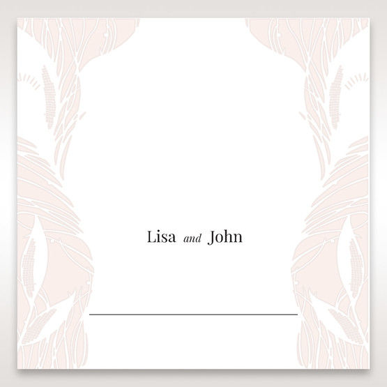 Orange Mystic Forest - Place Cards - Wedding Stationery - 69