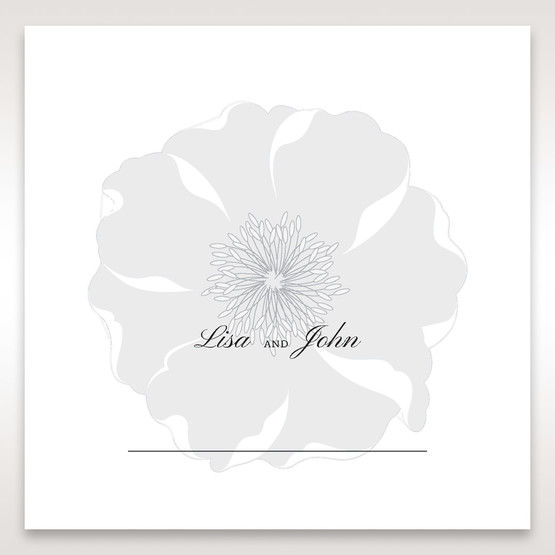 White True Love - Place Cards - Wedding Stationery - 23