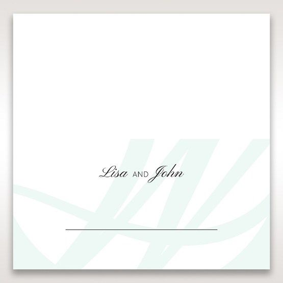 White Modern Marvel - Place Cards - Wedding Stationery - 84