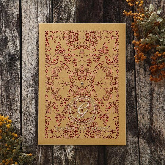Golden_Charisma-Wedding_invitation-in_Red_Gold