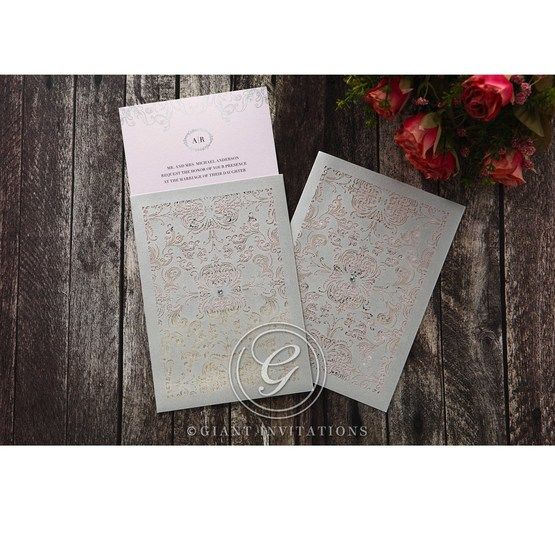 Silvery_Charisma-Wedding_invitation-in_Pink