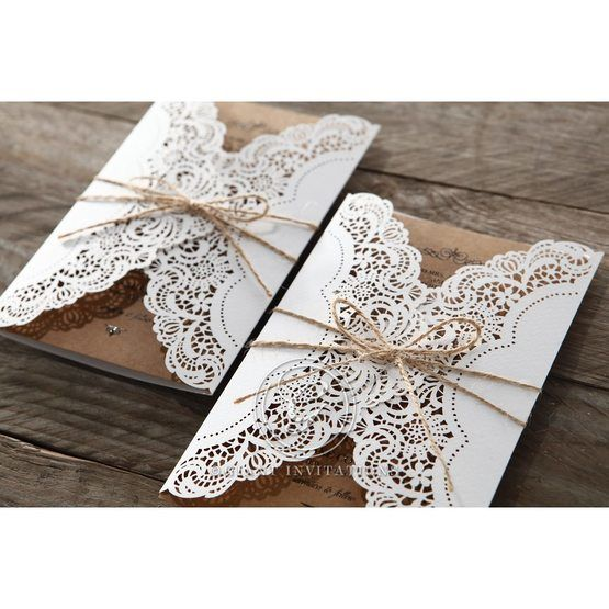 Brown Country Glamour - Wedding invitation - 16