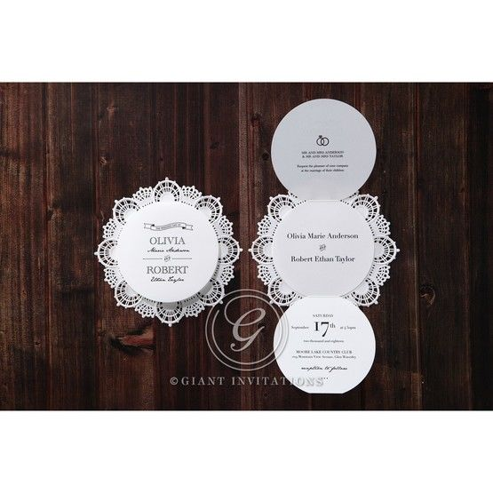 White Traditional Romance - Wedding invitation - 32