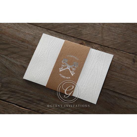 Brown Eternity - Wedding invitation - 56