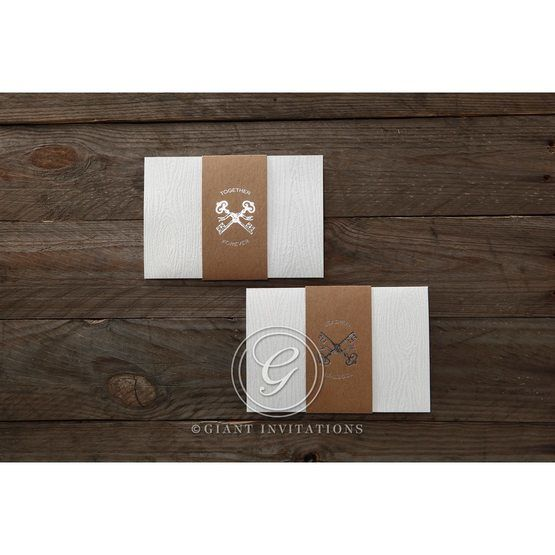 Brown Eternity - Wedding invitation - 57