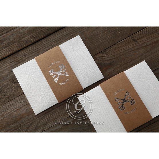 Brown Eternity - Wedding invitation - 58