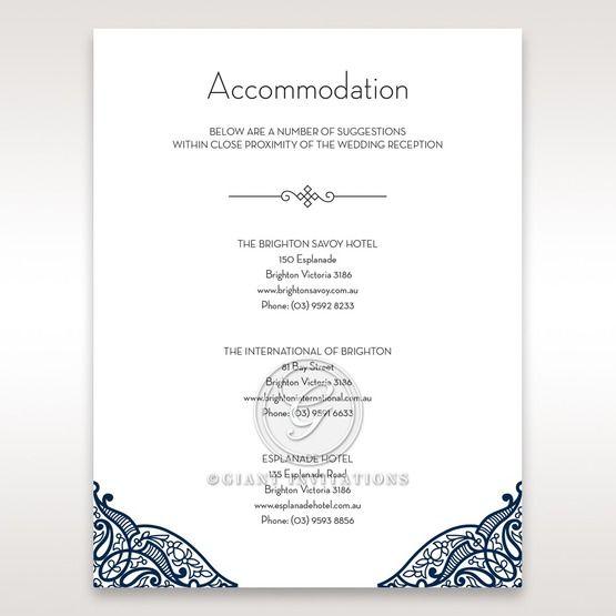 Royal Frame accommodation card DA15088