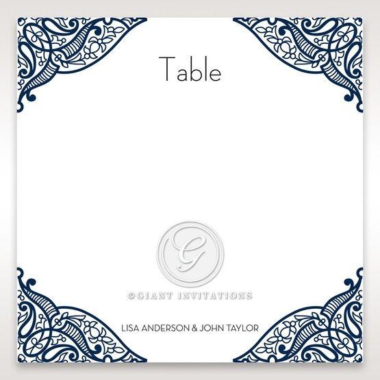 Royal Frame table number card DT15088