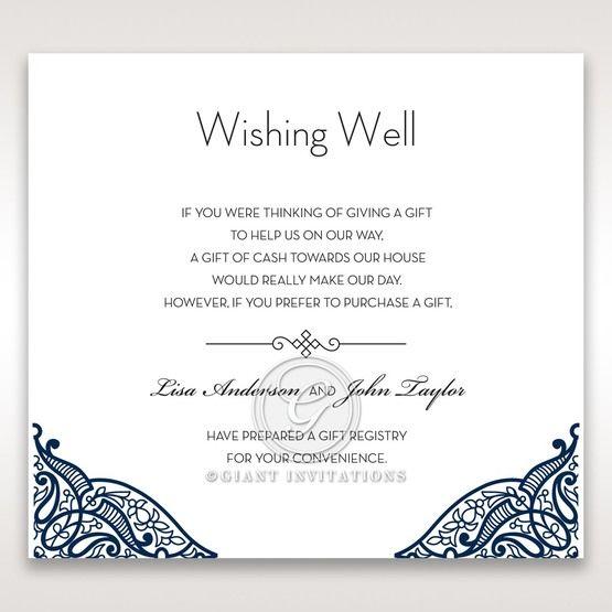 Royal Frame wishing well card DW15088