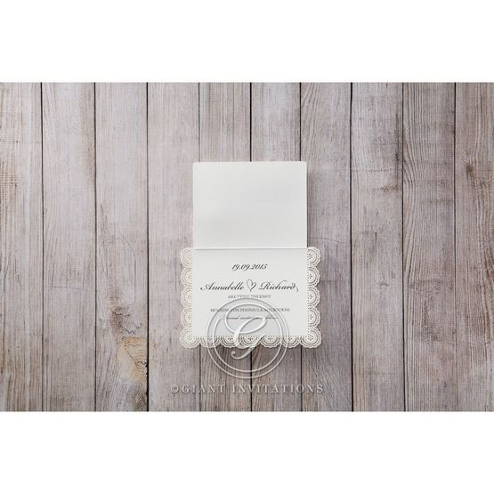 White Amabilis - Save the Date - Wedding Stationery - 32