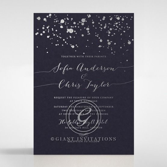 Star Dust wedding invitations FWI116119-GB-MG