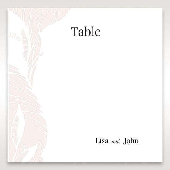 Orange Mystic Forest - Table Number Cards - Wedding Stationery - 61
