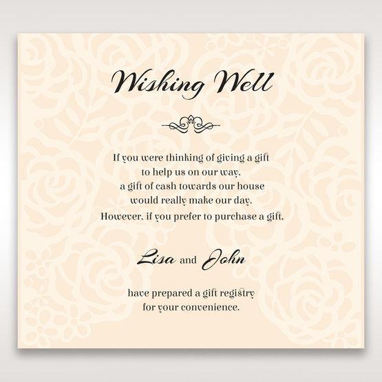 Wild Flowers In Bloom Wishing Well Wedding Stationery