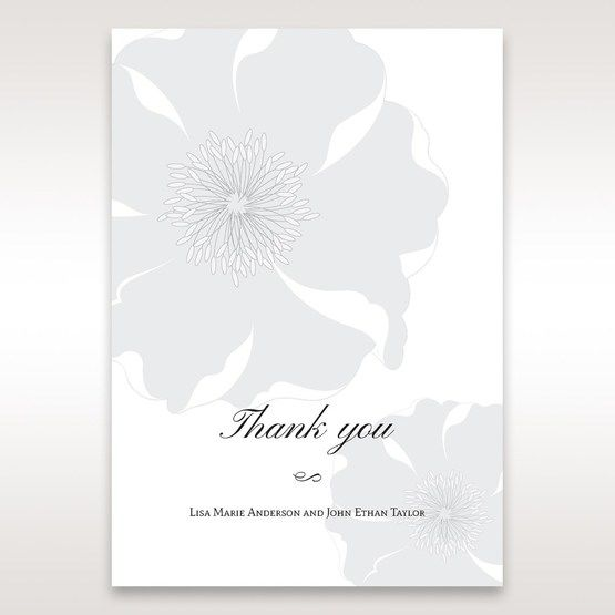 White True Love - Thank You Cards - Wedding Stationery - 65